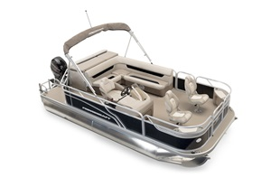 Pontoon Boats - Sportfisher Series - Sportfisher 19-2S (2016)