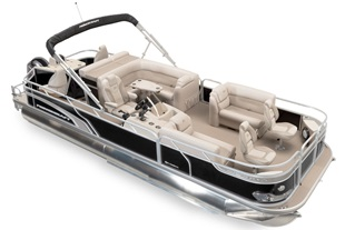 Pontoon Boats - Sportfisher LX Series - Sportfisher LX 25-4S (2016)